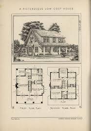 Low Cost House Plans 505 Best Vintage House Plans 1930s Images On Pinterest Vintage