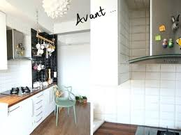 recouvrir du carrelage de cuisine la cuisine avant le relooking avec du carrelage adhacsif recouvrir