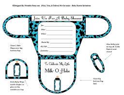 boy baby shower invitations printable shaped invites