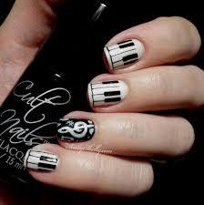 nail art 35 stunning music note nail art images ideas music