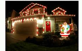 Christmas Lights On House by House Light Decoration Youtube