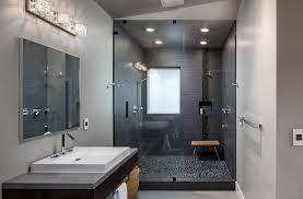 Ideas For Modern Bathrooms Bathroom Pebble Shower Modern Bathroom Ideas To Create A Clean