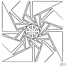 surprising geometric design coloring pages with geometry coloring