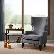 brighton modern wing chair madison park olliix