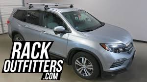 2013 honda pilot crossbars 2016 2017 honda pilot with thule rapid traverse roof rack