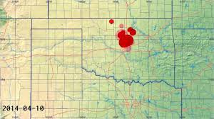 Earthquake Map Oregon by Updated Oklahoma Earthquake Animation Jan 2005 Apr 2014 Youtube