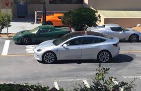 brand new photo of a silver model 3 surfaces online u2013 bgr