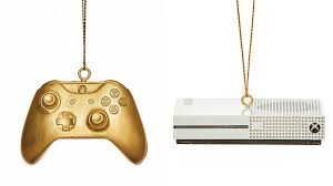 these xbox ornaments are adorable if you can get your
