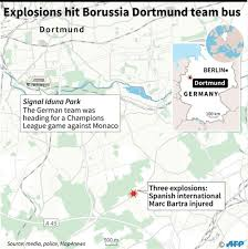 Dortmund Germany Map by Dortmund Blast Arrested Suspect Has U0027terrorist Background U0027 Cgtn