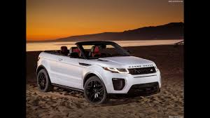 range rover land rover 2018 land rover range rover evoque convertible 2018 youtube