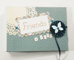 friends photo album fairy cardmaker friends scrapbook mini album