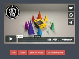 Seeking Vimeo Jquery Plugin For Easy Vimeo Controller Vimeo Api Js