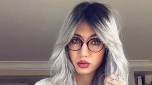 salt and pepper hair colour gray hair color trend hair interview with influencer from instagram