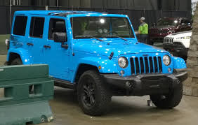 baby blue jeep wrangler what i saw at the 2017 cleveland auto it rolls