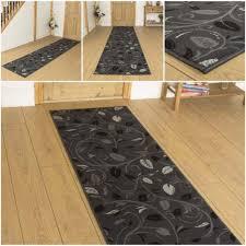 flur teppich blättern grau läufer teppich flur matte für halle lang