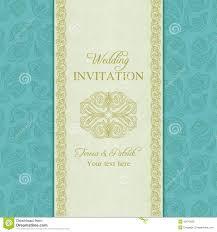 wedding invitation background free download turkish cucumber wedding invitation gold and blue stock vector