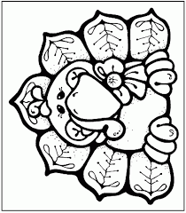 Funny Thanksgiving Coloring Pages How To Color A Turkey Coloring Home