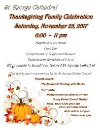 thanksgiving family celebration at george church of