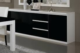 Awesome Buffet Noir Laque Conforama Contemporary Lalawgroup Us Best Buffet Noir Et Blanc Pas Cher Photos Design Trends 2017