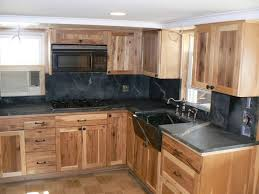 Maple Kitchen Cabinets Kitchen Pine With Black Soapstone Maple Kitchen Cabinet Wall