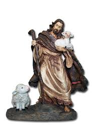 home interior jesus figurines jesus the good shepherd s2 34402 catholic online bookstore in