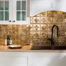 amazon com fasade easy installation fleur de lis bermuda bronze
