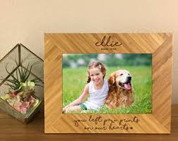 remembrance picture frame pet memorial frame etsy