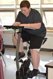 Desk Bike Pedals Bike Desks For Students The Inside Trainer Inc