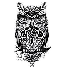tattoo decal paper buy cute inspired girls big arm temporary owl tattoo sticker paper