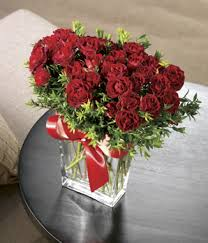 Flowers Delivered With Vase Crystal Garden Spray Roses At From You Flowers