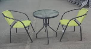 Lime Green Bistro Table And Chairs Supagarden Bistro Stacking Set Lime Green