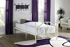 twin bed kmart wrought iron twin bed endearing white frame furniture twi