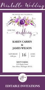 34 mejores imágenes de wedding invitation templates en pinterest