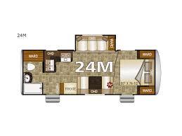 nash travel trailer floor plans new northwood nash 24m travel trailer for sale review rate