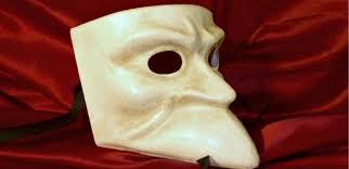 bauta mask volto intero mask italian venetian carnival