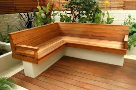 Deck Storage Bench Plans Free by Patio Outside Wooden Bench With Storage Wood Outdoor Benches For