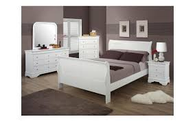 white twin bedroom set bianco white twin sleigh bedroom set my furniture place