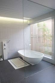 black and white bathroom floor tile bathroom contemporary with