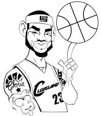 kobe bryant coloring pages lebron james coloring pages with regard to inspire in coloring