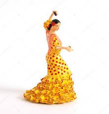 figure of spanish flamenco dancers u2014 stock photo vladj55 4659669