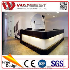 Custom Made Reception Desk Wanbest Furniture Price Photo Custom Made Reception Desk Manmade