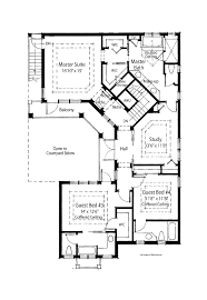 Mediterranean Floor Plans With Courtyard Floor Plans Aflfpw07098 2 Story Mediterranean Home With 4