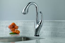 touch kitchen faucet delta kitchen faucet 9192t sssd dst touch sensitive