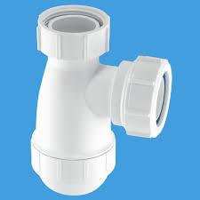 mcalpine 1 1 4 small space saving basin bottle trap e10 40003209