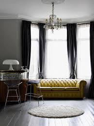Mustard Colored Curtains Inspiration Grey And Yellow Living Room Interior Design Curtain Pinterest