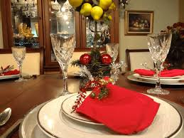 christmas decor for round tables dining room holiday dinner table ideas christmas decoration