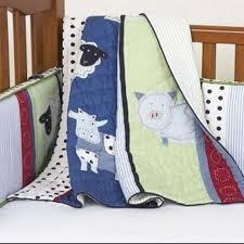 Farm Crib Bedding Find More Pottery Barn Farm Patch Crib Bedding Set