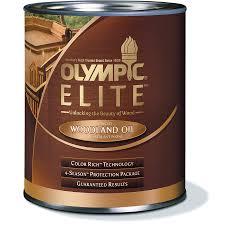 shop olympic elite woodland oil mountain cedar transparent