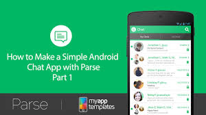 app android simple android chat app ep 1 demo of the simple chat app with