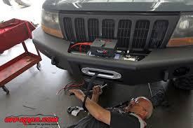 Rugged Ridge 8500 Winch Rugged Ridge Performance Off Road Winch Install Off Road Com
